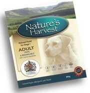 NATURE'S HARVEST ADULT TRIP AND RICE 10X395GR