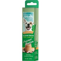 TROPICLEAN CLEAN TEETH GEL PEANUT BUTTER 59gr