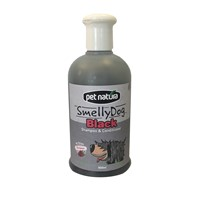 PN SMELLY DOG ΣΑΜΠΟΥΑΝ & CONDITIONER BLACK 500ML