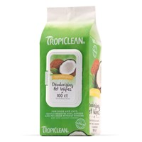 TROPICLEAN HYPO ALLERGENIC WIPES 100 ΜΑΝΤΙΛΑΚΙΑ