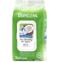 TROPICLEAN EAR CLEANING WIPES 50 ΜΑΝΤΙΛΑΚΙΑ