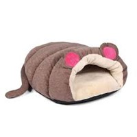 HAPPYPET MUFFIN MOUSE BED BROWN 60*60*27cm 93022