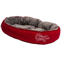 ROGZ ΚΡΕΒΑΤΙ ΓΑΤΑΣ SNUG 40x32x8 RED FISHBONE