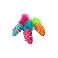 HAPPYPET CARNIVAL MICE CAT TOY 10136