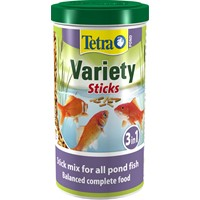 TETRA POND VARIETY STICKS 1L/150gr